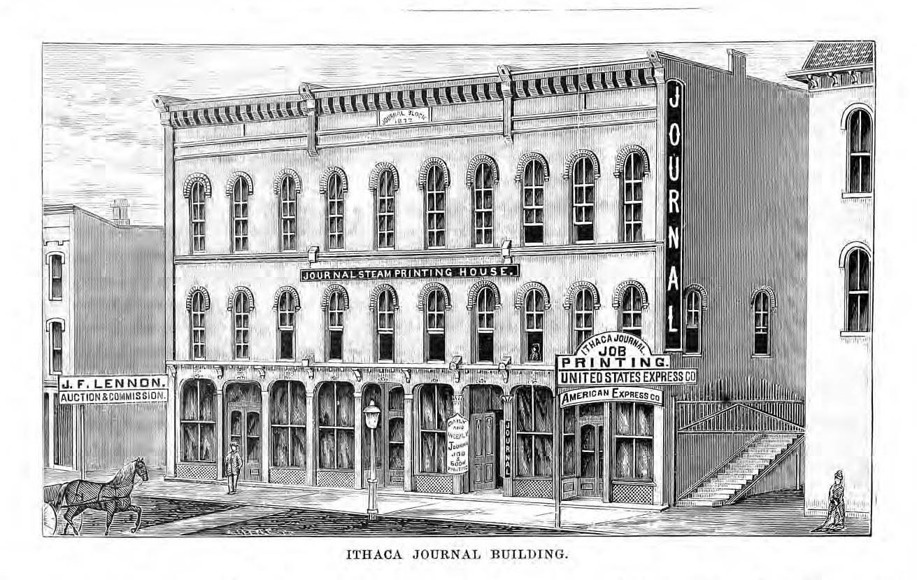 Ithaca Journal Building p. 382