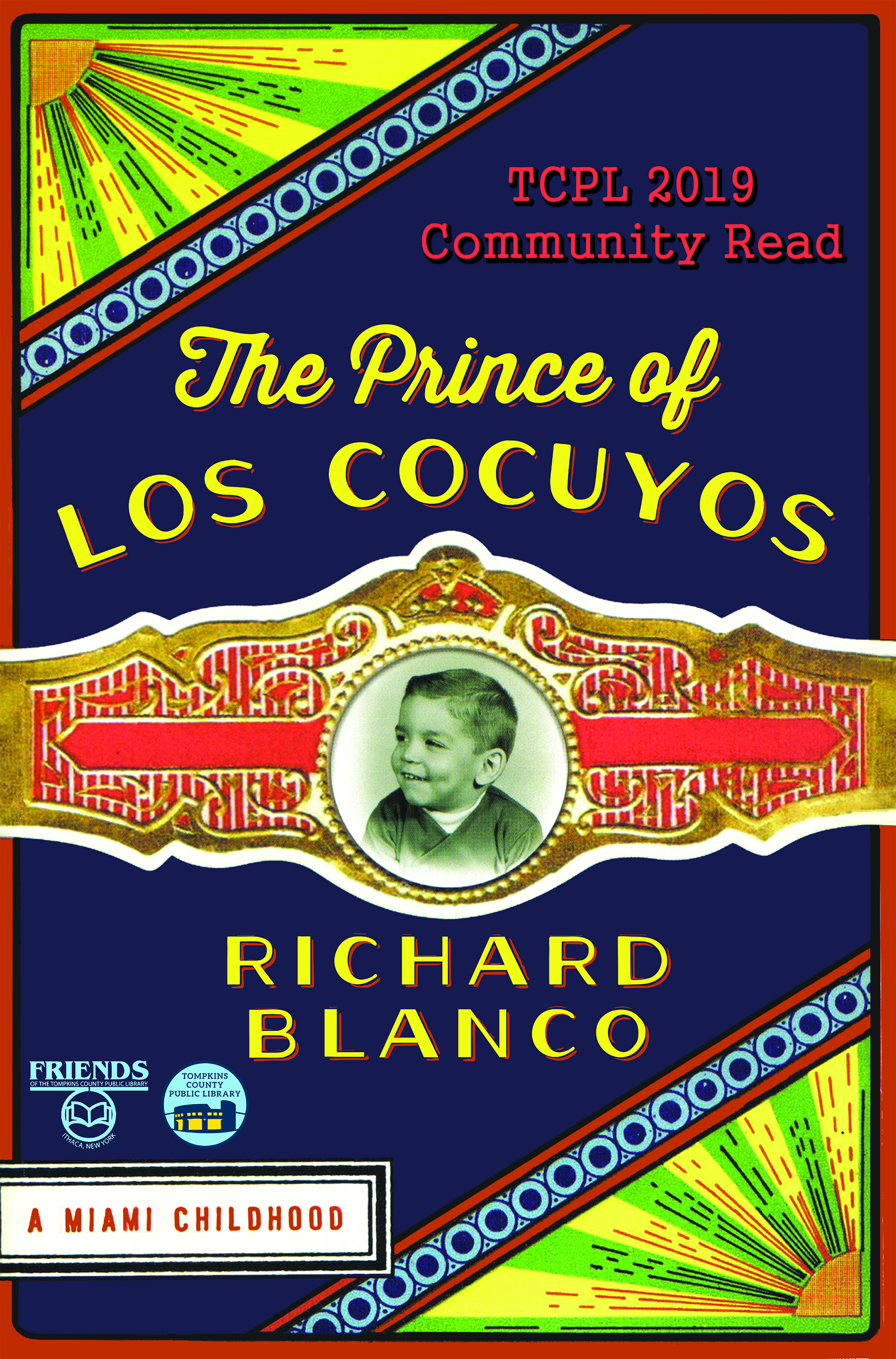 book cover of The Prince of los Cocuyos by Richard Blanco