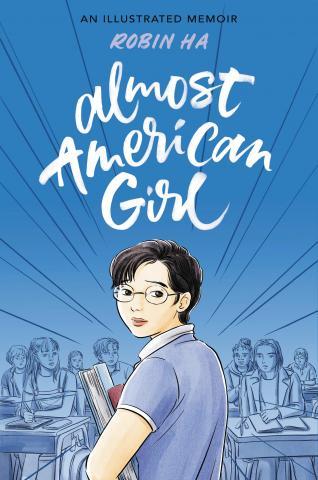 book cover of Robin Ha's Almost American Girl
